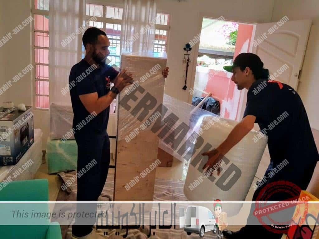 أفضل عمالة مدربة لدي شركة العابر الكويتية لنقل العفش المنزلي والمكتبي